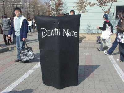 Cosplays Death Note