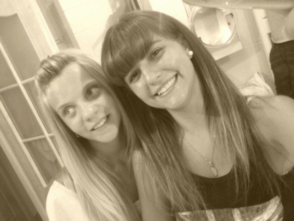 Moi et ma cousine ! ❤