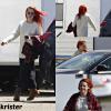 Le 15 et 16 avril 2014 ,Kristen  tournage 'américaine Ultra