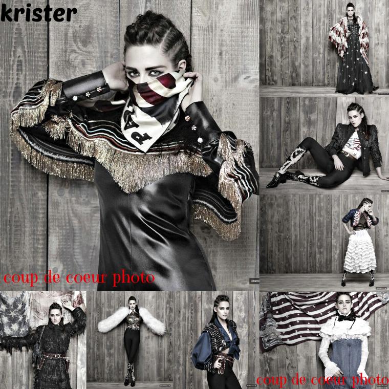 Kristen apparaît dans la fabrication de Chanel Paris-Dallas 2013 2014 Métiers d'Art de campagne à la galerie! Consultez l'aperçu des vignettes et la vidéo ci-dessous: