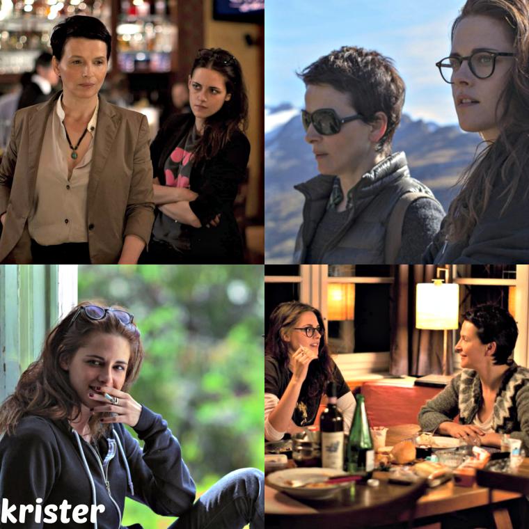 """Kristen fait de production """"Sils Maria"""" film à la galerie!"""