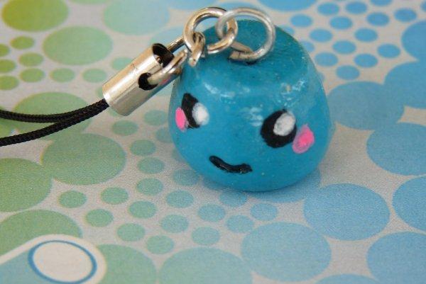 Bijou de portable Kawaii bleu