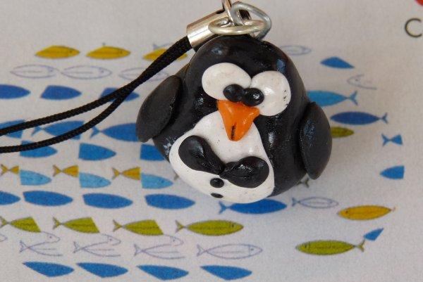 Bijou de portable petit pingouin