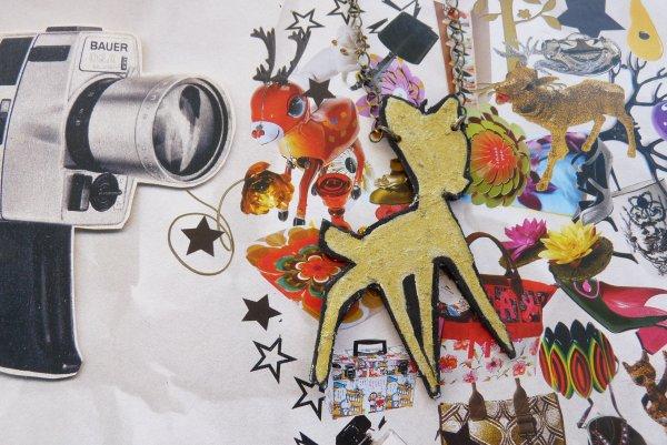 Collier Carton Bambi