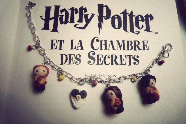 Bracelet breloques Harry Potter