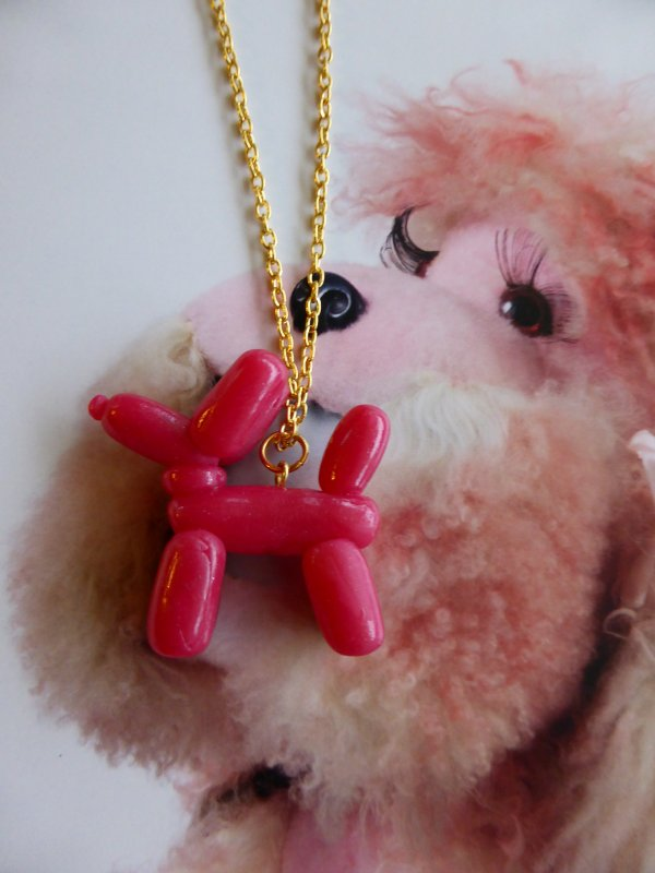 Collier Pink Dog