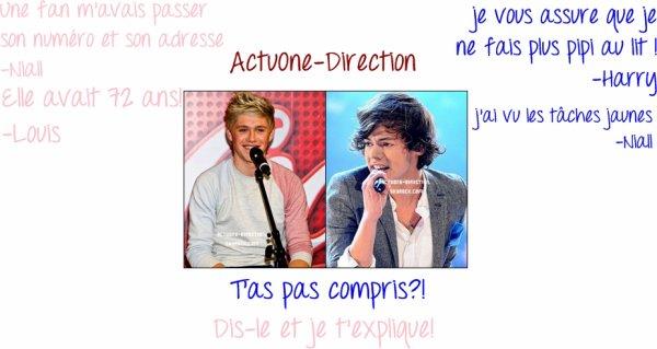 Dialogue entre Niall/Louis et Harry/Niall :) Aimez-vous? Avez-vous compris? Si non! Je vous explique! ;)