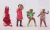 Lady Gaga habille les enfants