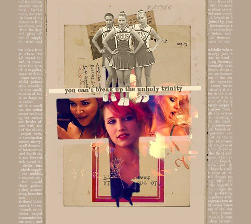 You can't break up the unholy trinity.