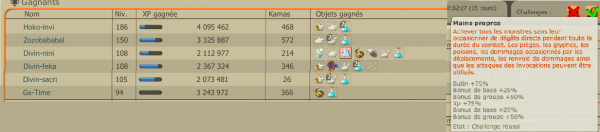 xp/achats/ventes/runes/up etc...  suite