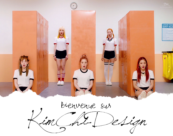 "Design du blog #2 - "" Russian Roulette "" Red Velvet"