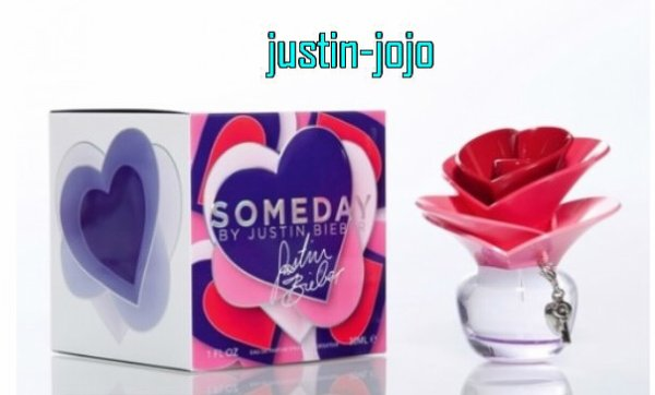 Le parfum « someday »