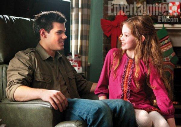 Taylor Lautner Plats sur la relation de Jacob avec Renesmee dans 'Breaking Dawn II »