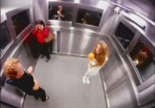 PRANK ascenseur au Bresil