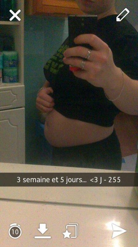 Début de ma grossesse ...