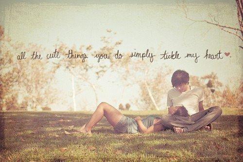 es ist wunderschön bei dir zu sein