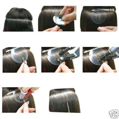 Les extensions cheveux
