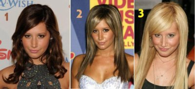 1-brune 2-chataine claire 3-blode