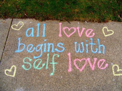 all love begins with self love <3
