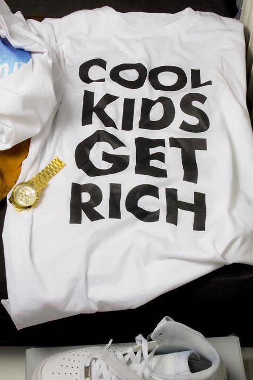 Cool kids get rich