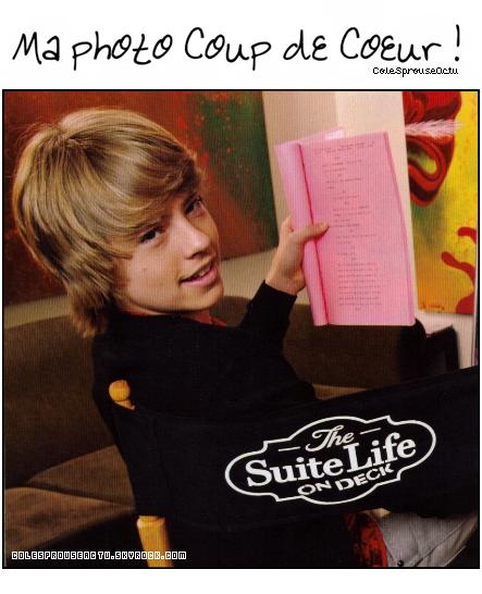 """*Photo d'un New épisode de """"La Vie de Croisière de Zack et Cody"""". *"""