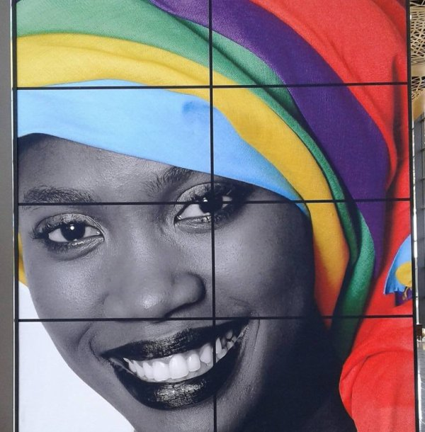La femme africaine portrait....