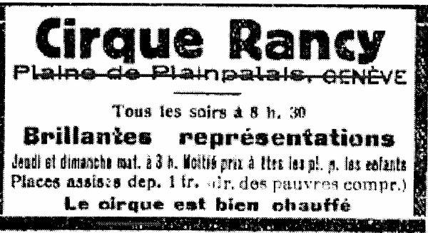 """26  septembre  2016:  """"  P  comme  Programme  1919....""""  ou  """"  Napoléon  à  Genève...."""""""