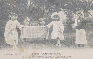 """20  septembre  2019:  """"  W  comme  Weberty...""""  ou  """"  De  petits  acrobates,  mais  de  grands  artistes...."""""""