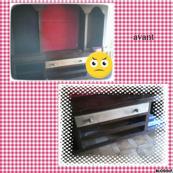 rénovation de notre meuble