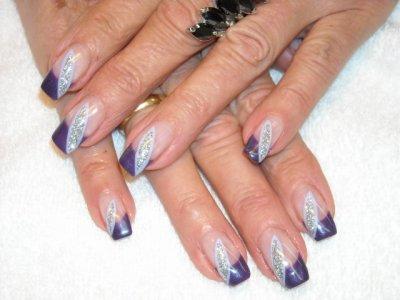 french violet foncé