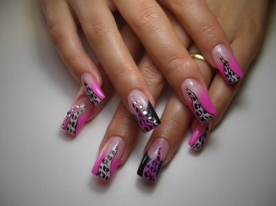 french rose leopard