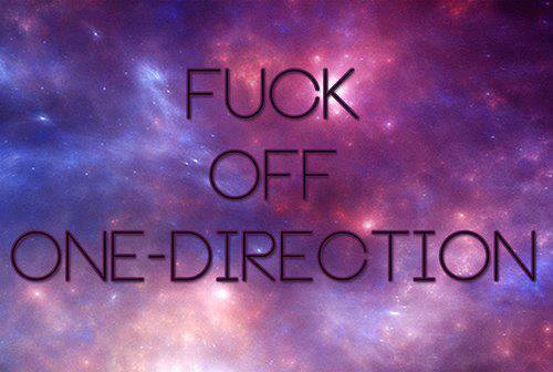One direction ...