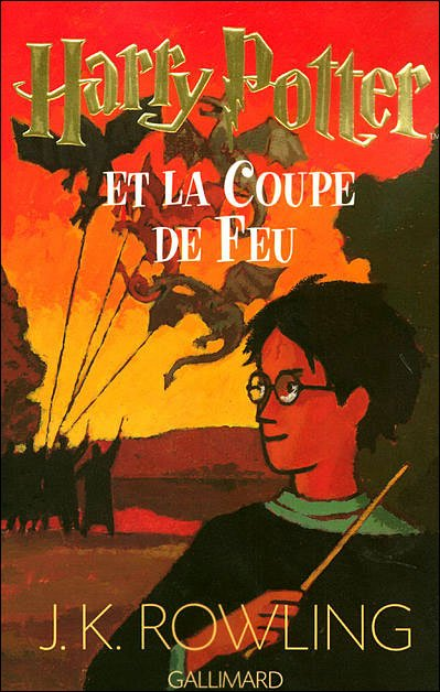 Harry Potter - tome 4 - La coupe de feu