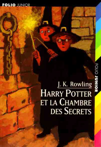 Harry Potter - tome 2 - La Chambre des Secrets