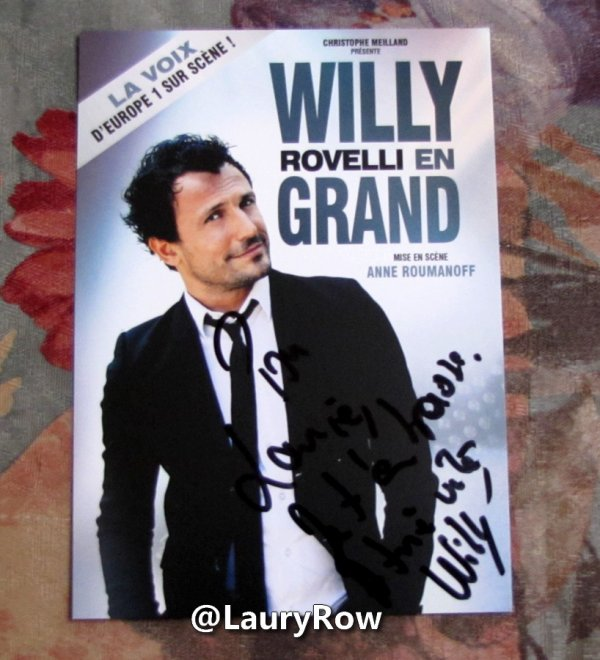 ~ WILLY ROVELLI. ~
