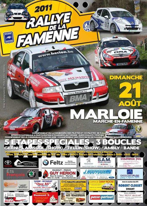 Rallye de la Famenne 2011
