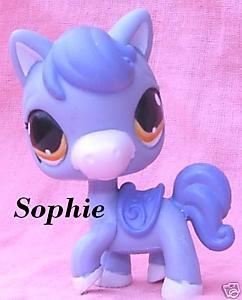 Littlest petshop pet shop cheval poney bleu pony lps 09 blog de petshop lydia - Petshop cheval ...