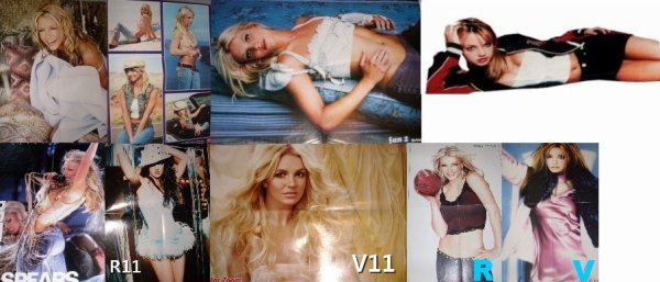 Britney Spears... Poster 4 pages