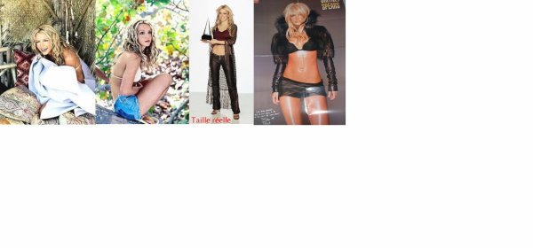 Britney Spears -- Poster 8 pages et Taille réelle