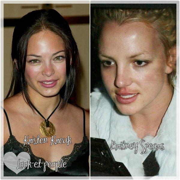 Rubrique : Stars ....  Stars sans maquilage , vous voyer personne n'est parfait mais vraiment quel et la pire entre toutes ces filles ?....