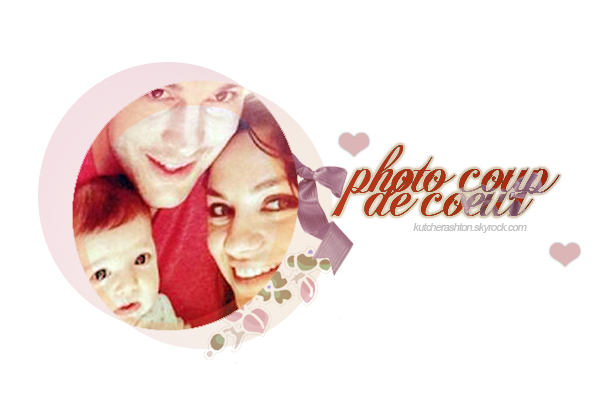 Photo coup de c½ur ❤ (Mila, Wyatt and Ashton) - KutcherAshton.skyrock.com