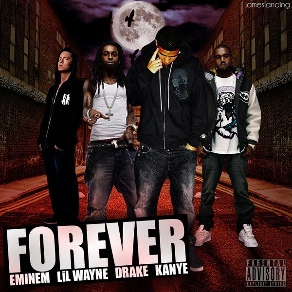 More Than a Game / Drake & Kanye West & Lil Wayne & Eminem - Forever (2009)