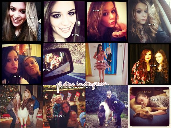 Caitlin a postée des nouvelles photos personnelles plus ou moins récente datant de décembre.