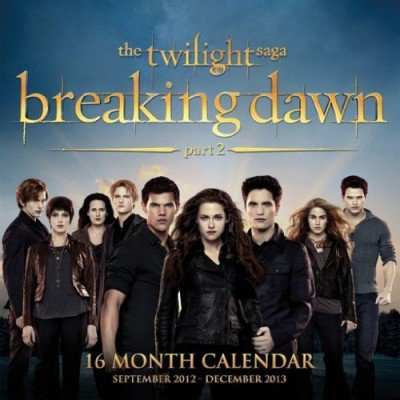 Calendrier 2013 Breaking dawn PART 2 !