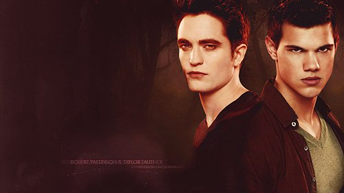Wallpaper : Vous aimez Edward et Jacob ?