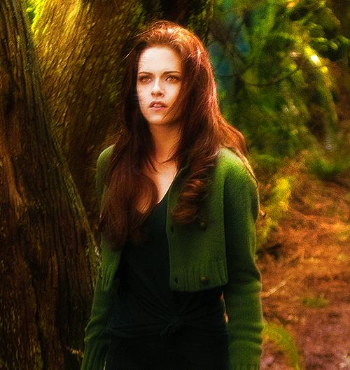 Fanmade : bella, un vampire qui brille.