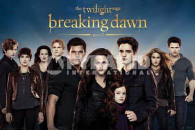 Pyramid International dévoile de nouveaux posters breaking dawn part 2.
