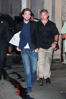 Robert Pattinson au Jimmy Kimmel Live