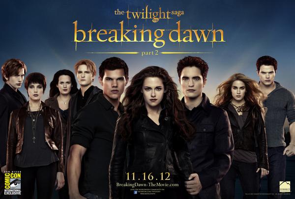 Le poster des Cullens maintenant en UHQ !