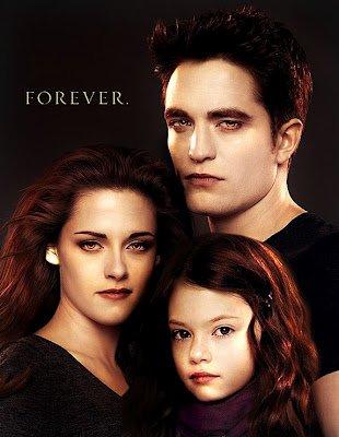FanArt : Poster de famille; Bella, Edward et Renesmée
